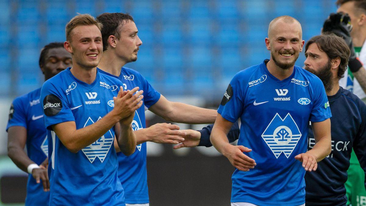 Moldes Vegard Forren, Fredrik Aursnes og Eirik Hestad