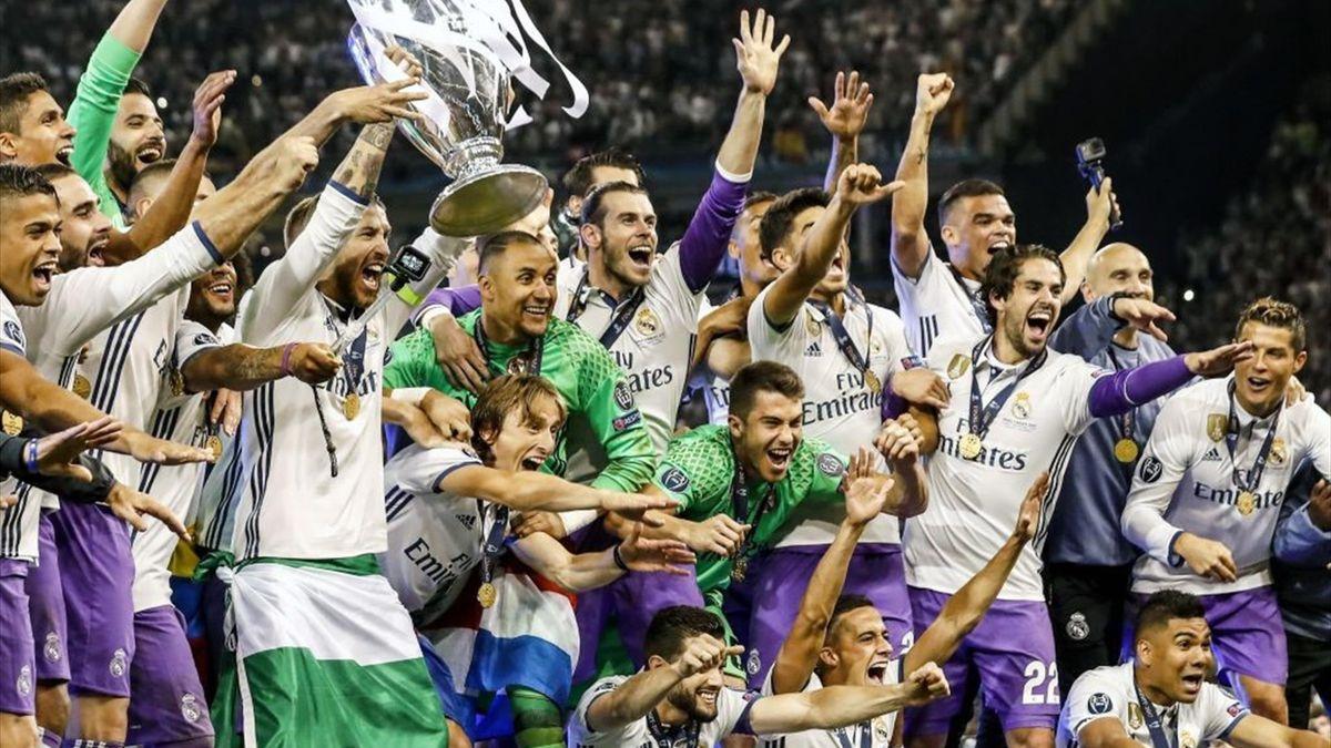 Real Madrid, câștigătoarea UEFA Champions League în 2017