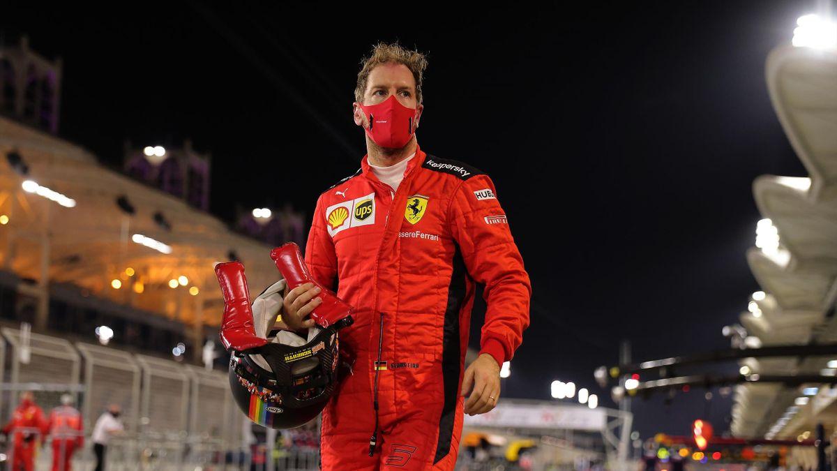 Sebastian Vettel (Ferrari) - GP Bahrain 2020