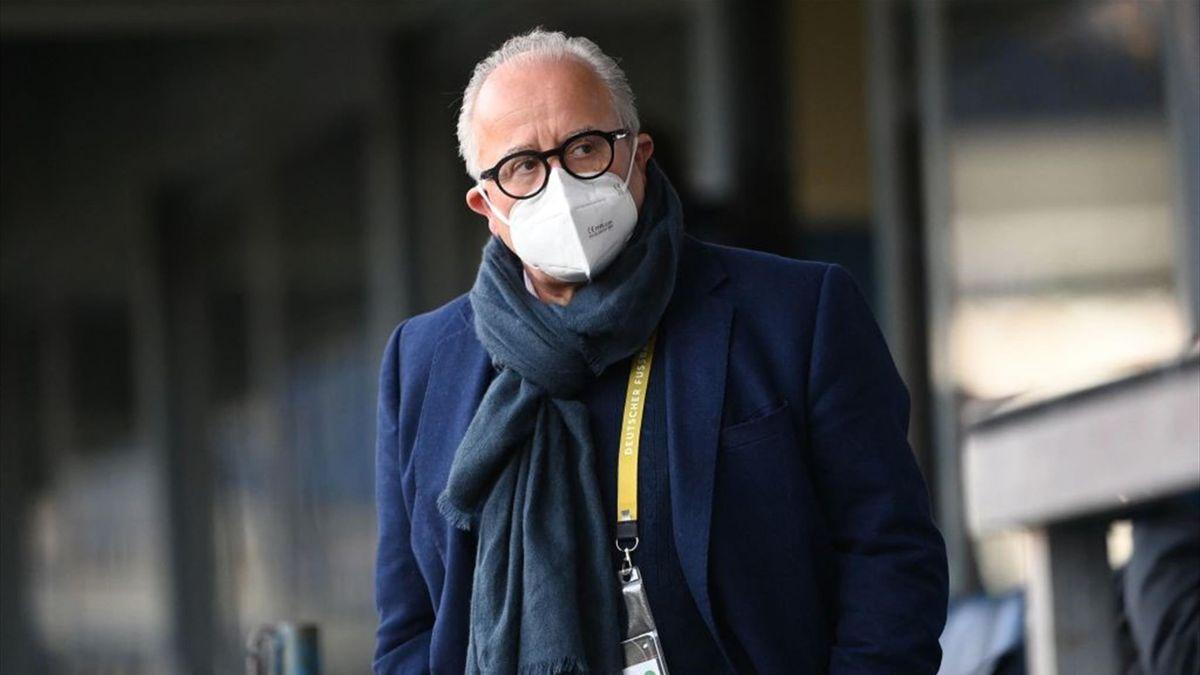 DFB-Präsident Fritz Keller steht heftig in der Kritik