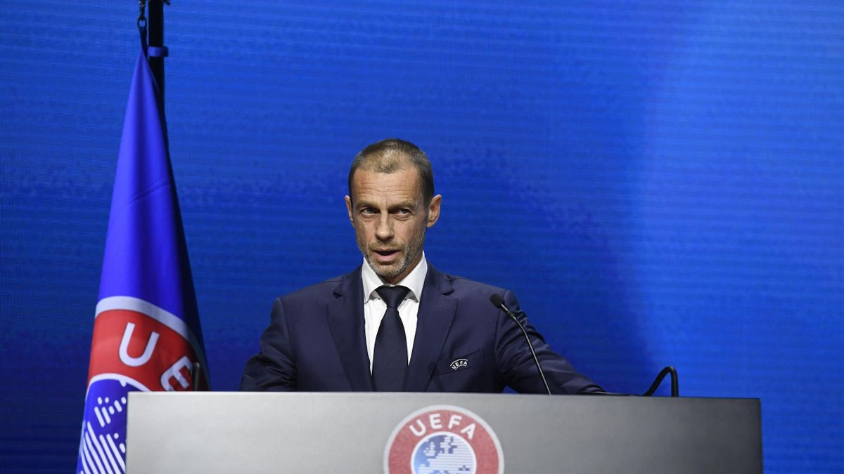Aleksander Ceferin, UEFA Präsident
