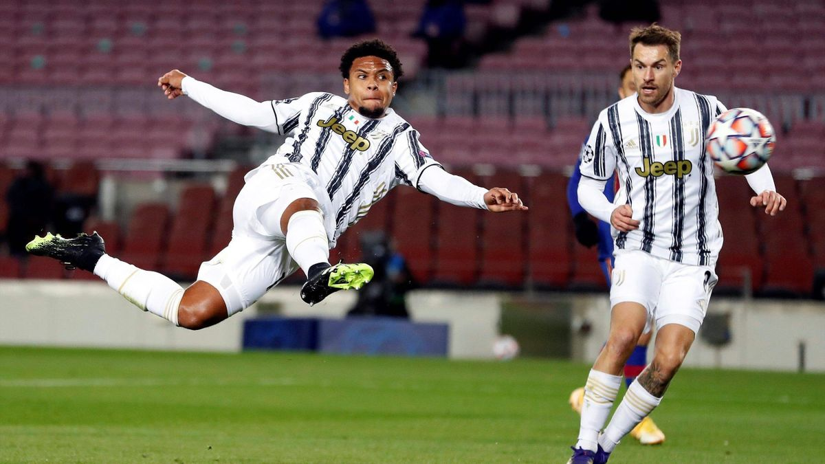 Weston McKennie - Barcellona-Juventus - Champions League 2020-2021