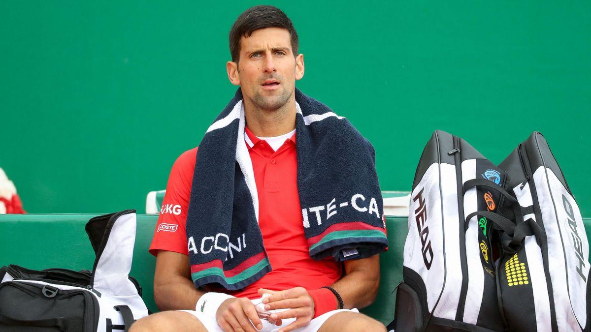 Novak Djokovic à Monte-Carlo en 2021