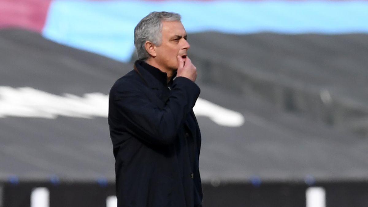 Bei José Mourinho und den Tottenham Hotspur läuft es derzeit nicht rund