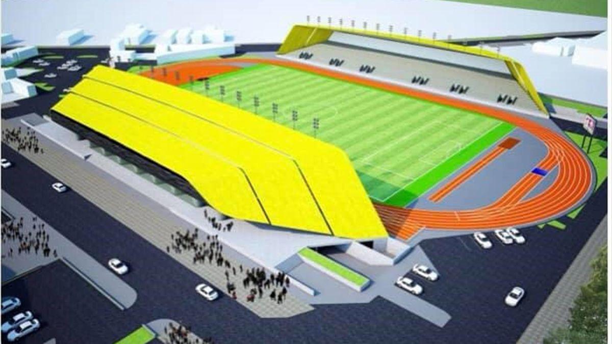 Alexandria va beneficia de un stadion ultramodern (Facebook Vali Badea)