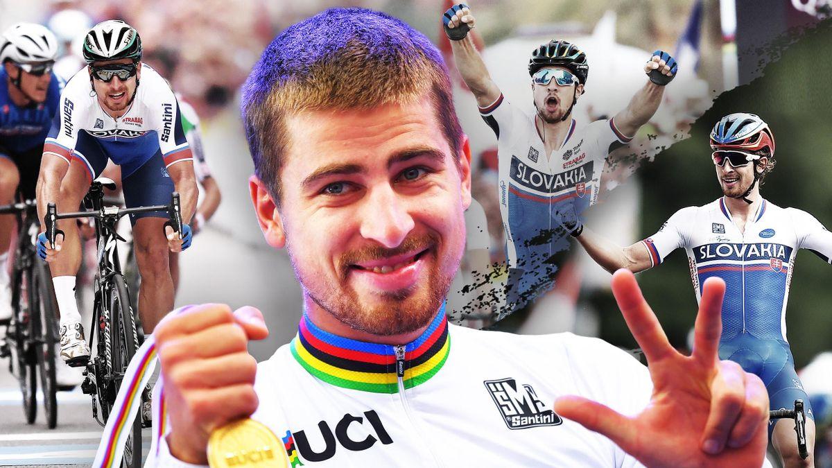 Peter Sagan est triple champion du monde