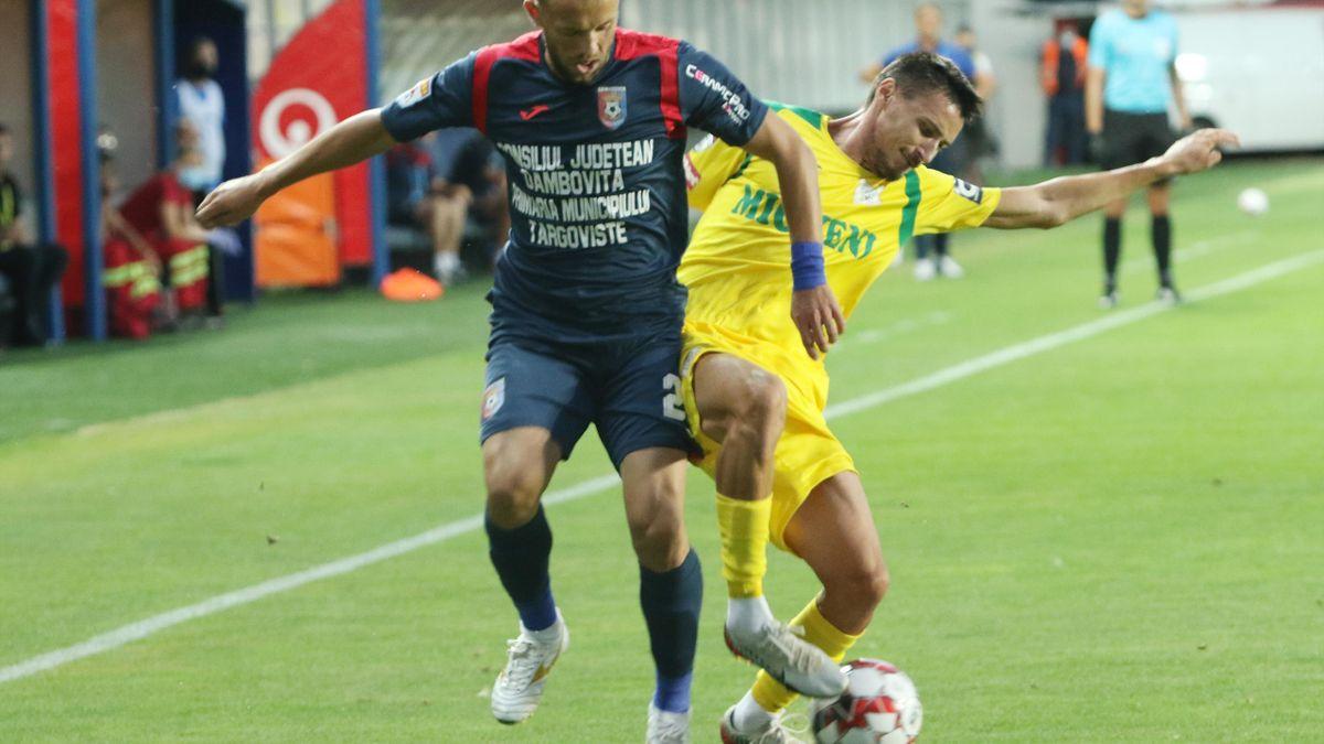 Chindia Târgoviște - CS Mioveni 2-0, în turul barajului pentru menținere/promvoare în Liga 1