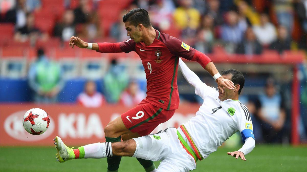 Portugal vs Mexiko, Confed Cup 2017