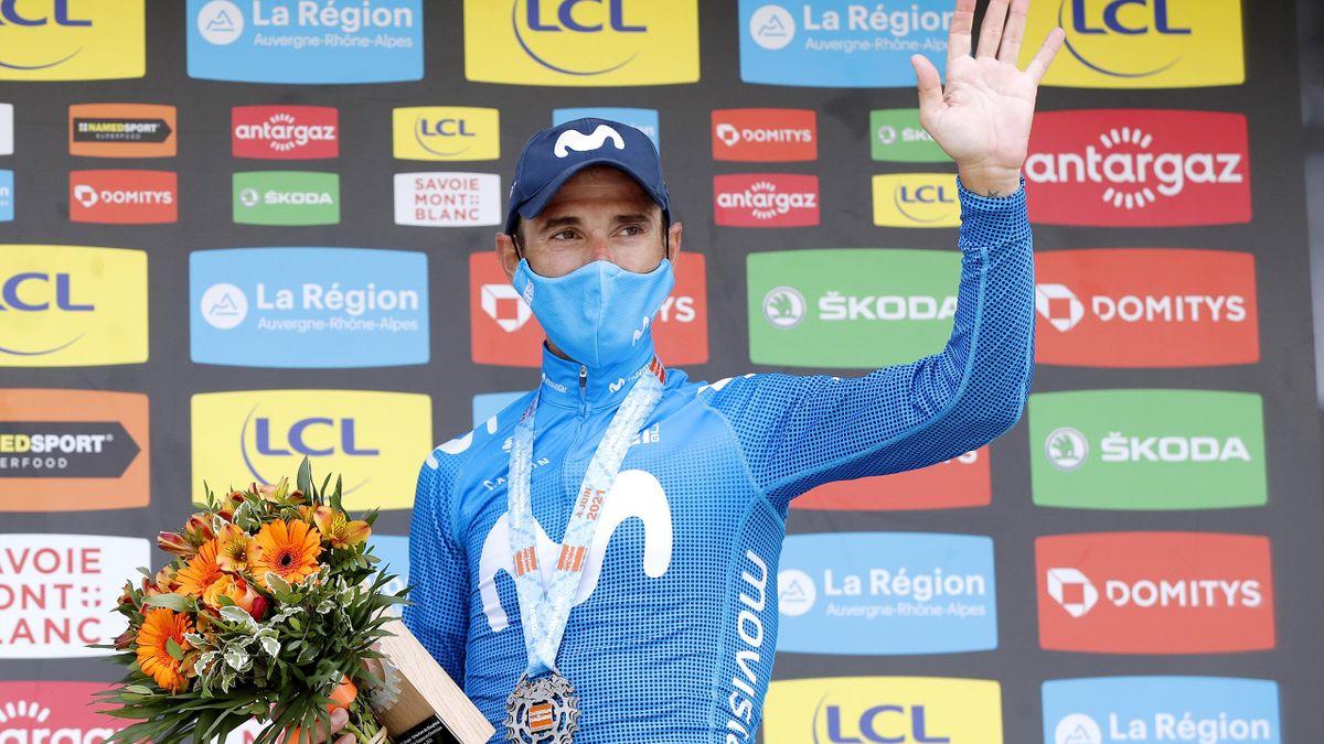 Alejandro Valverde, Giro del Delfinato 2021