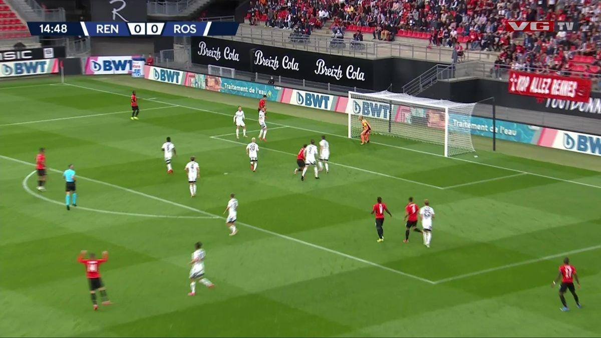 Høydepunktene Rennes - Rosenborg