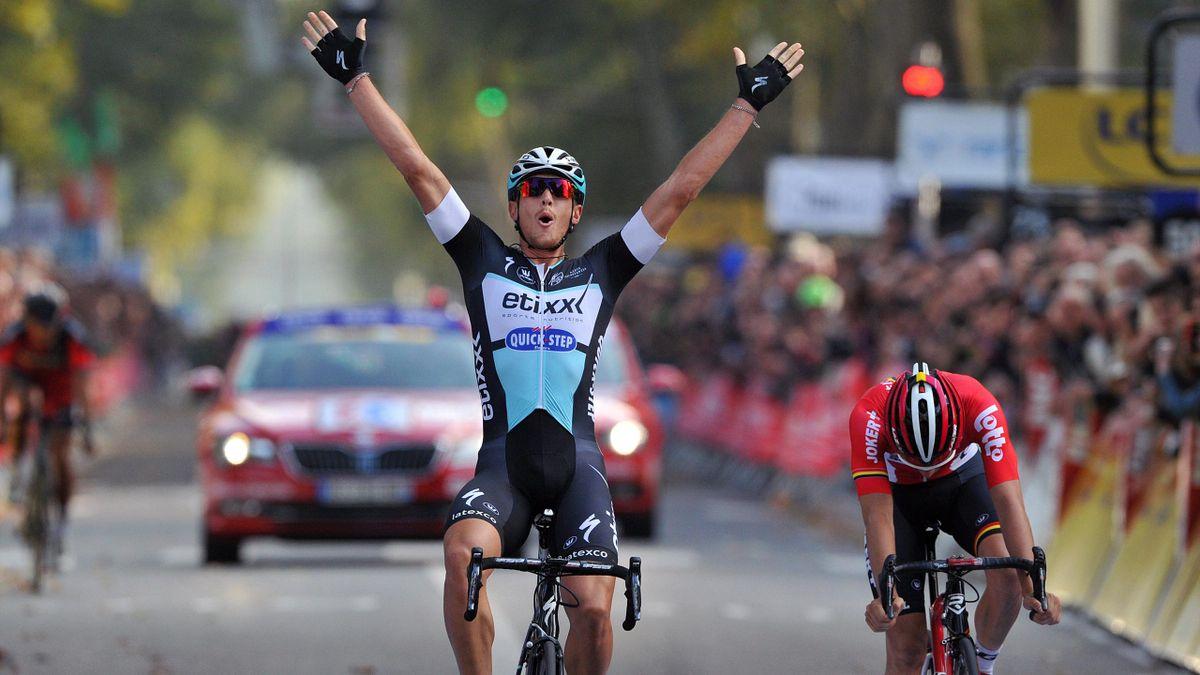 Matteo Trentin, vainqueur de Paris - Tours