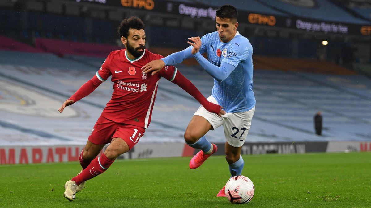 Мохамед Салах и Жоау Канселу, «Ливерпуль» – «Манчестер Сити»