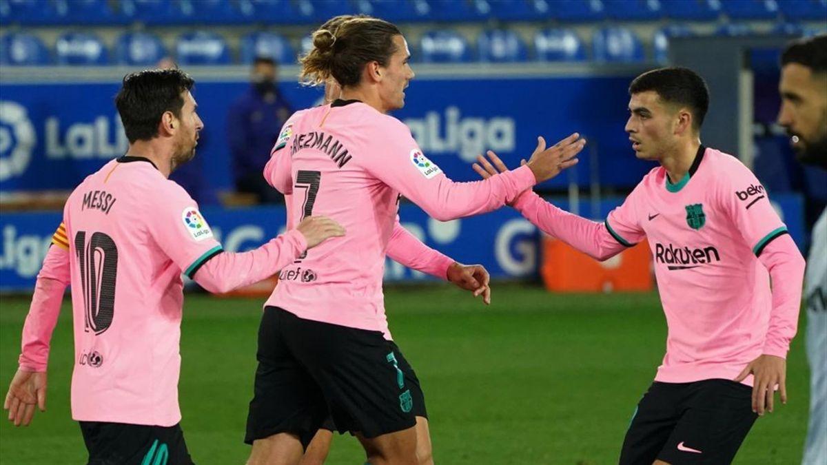 Griezmann, buteur avec le Barça à Alaves