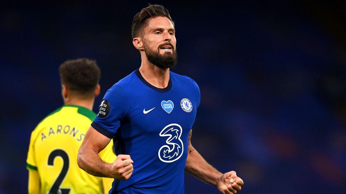 Olivier Giroud, atacantul lui Chelsea