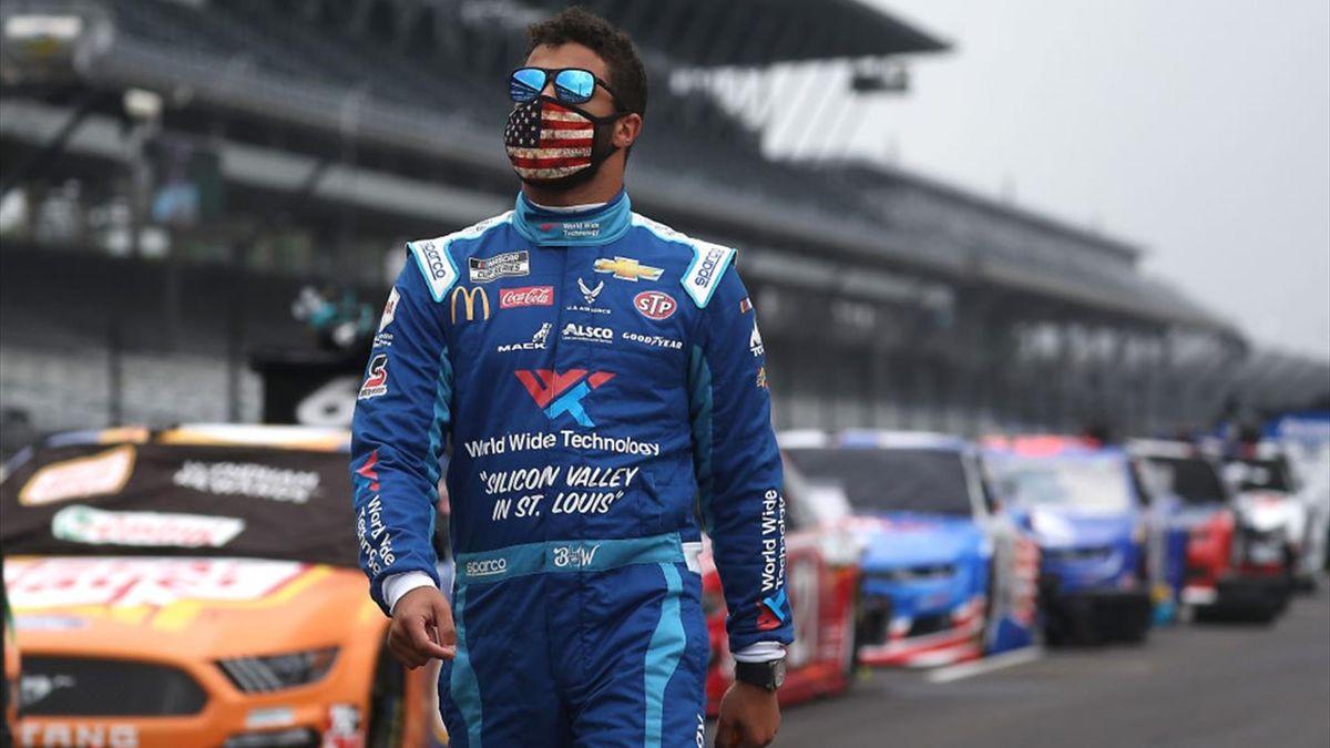 NASCAR-Pilot Bubba Wallace