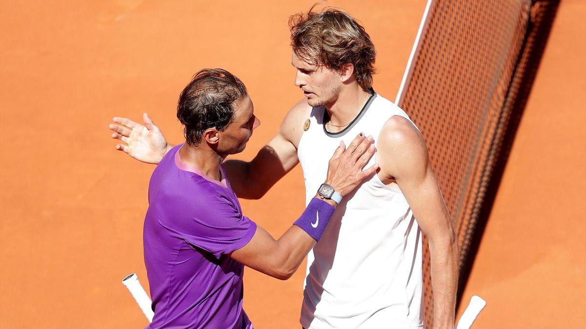 Saoulé de coups et trop passif, Nadal n'a rien pu faire face à Zverev : le résumé de sa sortie