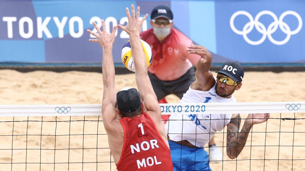 Вячеслав Красильников, Россия, пляжный волейбол, Олимпиада в Токио-2020