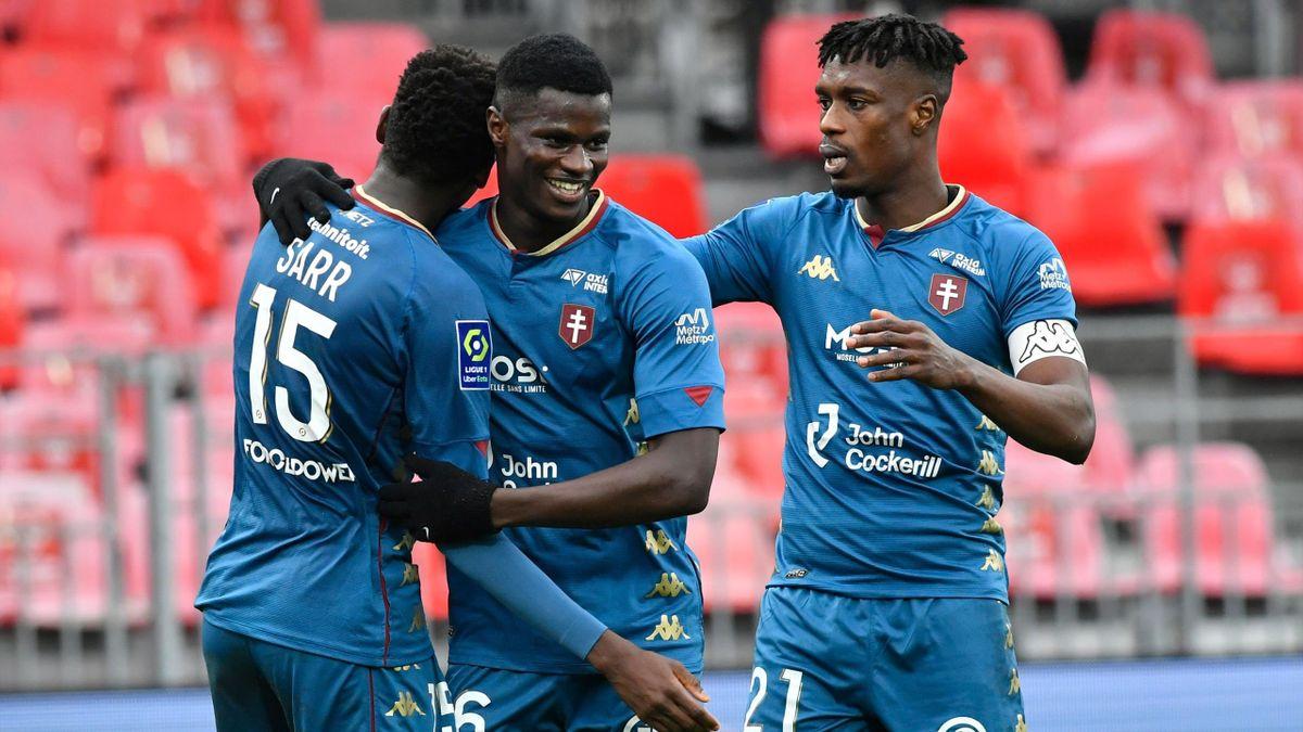 Metz s'est imposé à Brest au terme d'un match fou