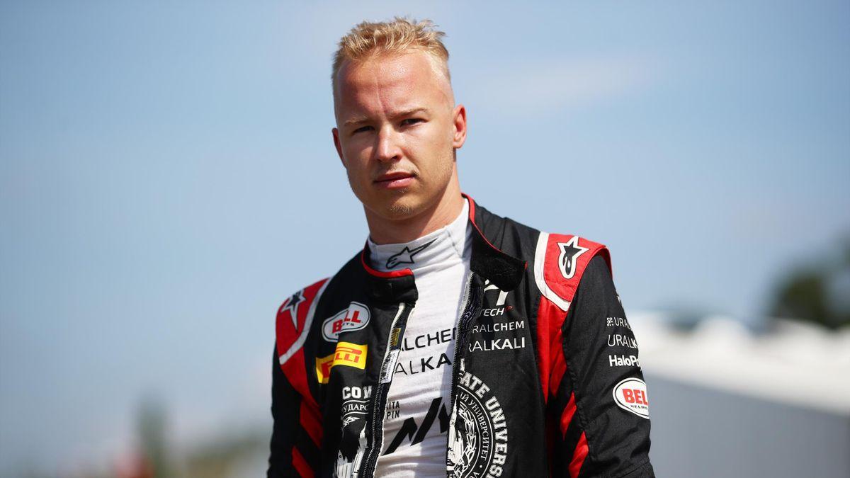 Nikita Mazepin (Hitech) lorqs du Grand Prix d'Italie de Formule 2, le 11 septembre 2020