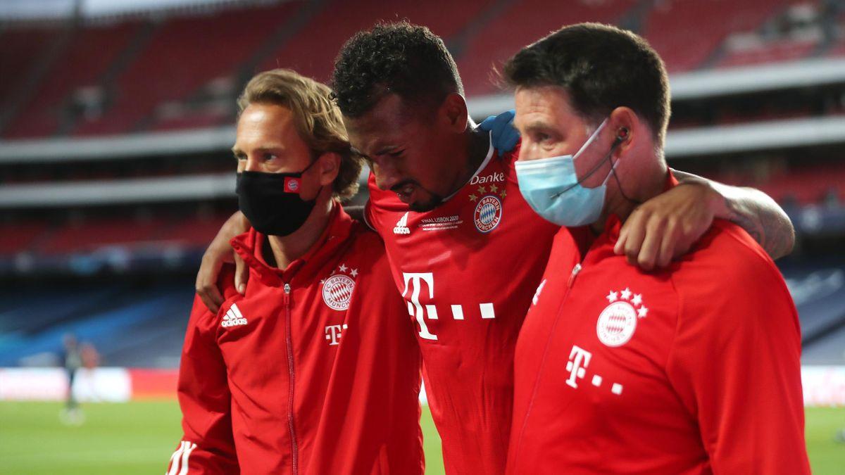 Verletzte sich im Champions-League-Finale bereits früh am Oberschenkel: Jérôme Boateng