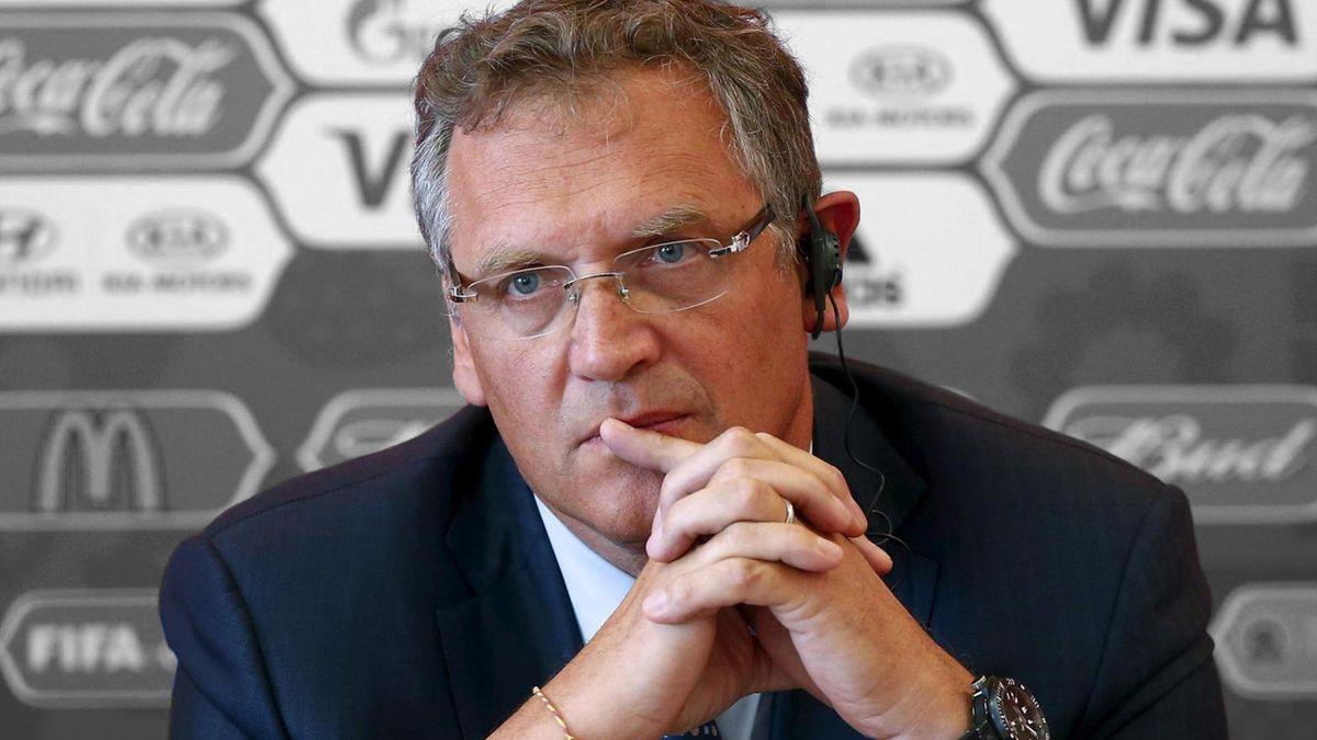 Жером Вальке, генеральный секретарь ФИФА