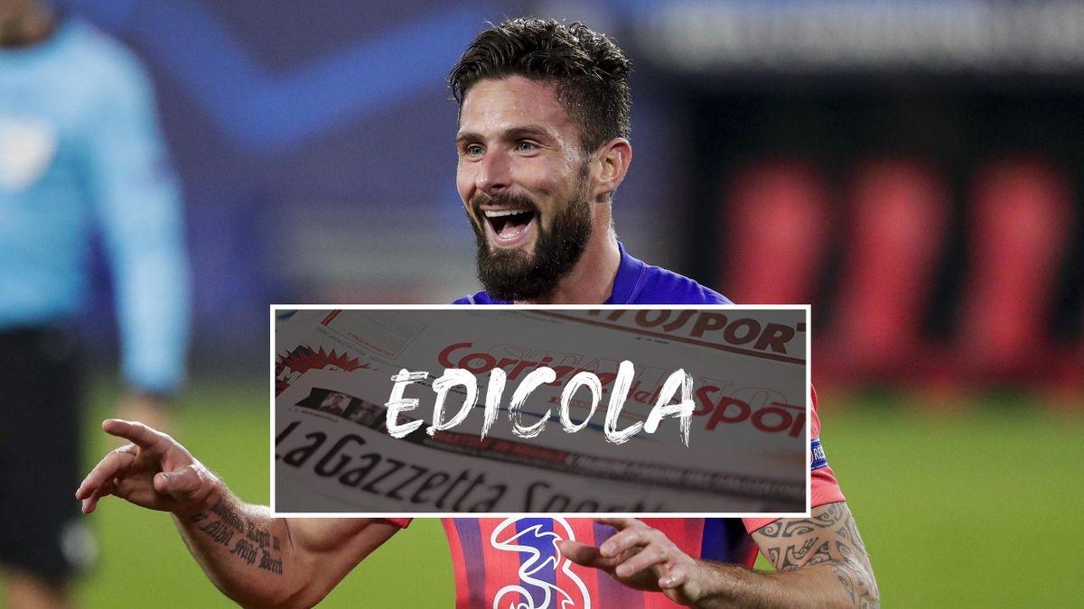 Edicola Olivier Giroud