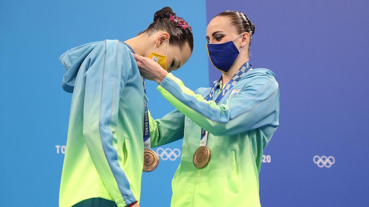 Marta Fiedina og Anastasiya Savchuk