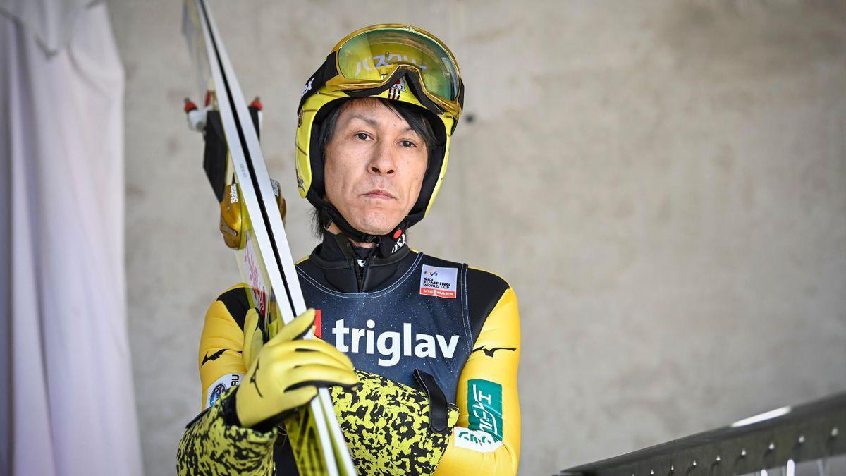 Noriaki Kasai debütierte im Weltcup-Zirkus im Jahr 1988