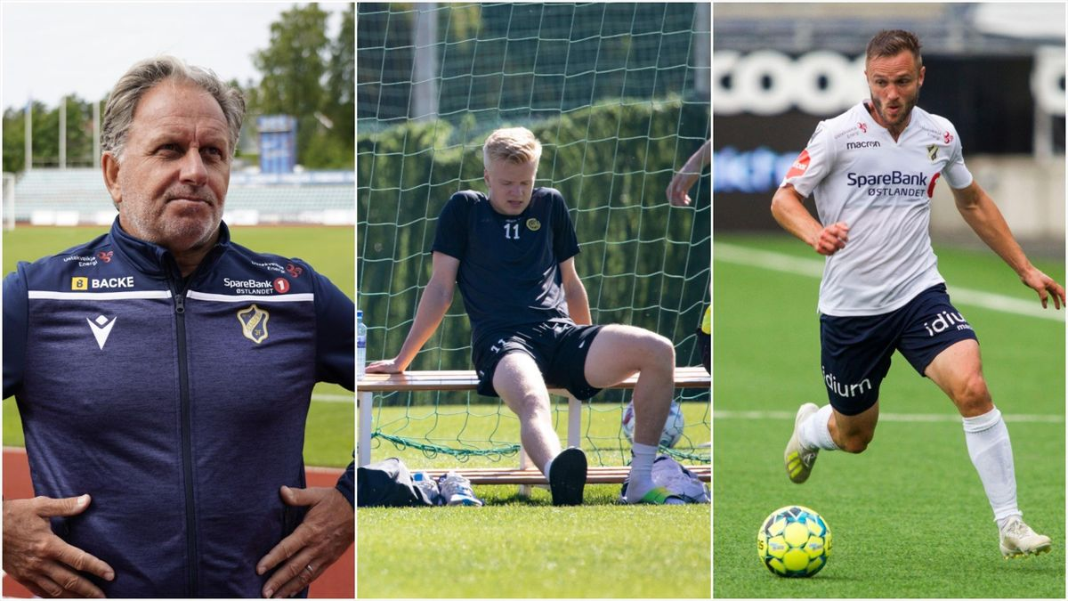 Jan Jönsson (Stabæk), Axel Lindahl (Bodø/Glimt) og Mats Solheim.