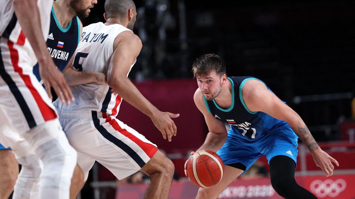 Tokyo 2020   Samenvatting Frankrijk - Slovenië - Halve finale olympisch basketbaltoernooi