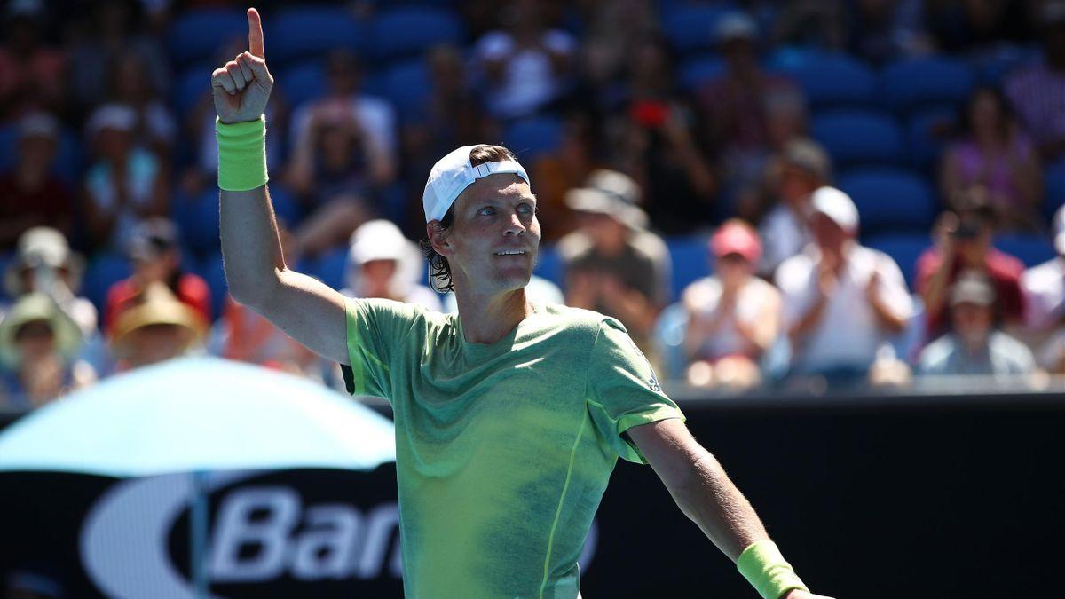 Tomas Berdych - Open d'Australie 2018
