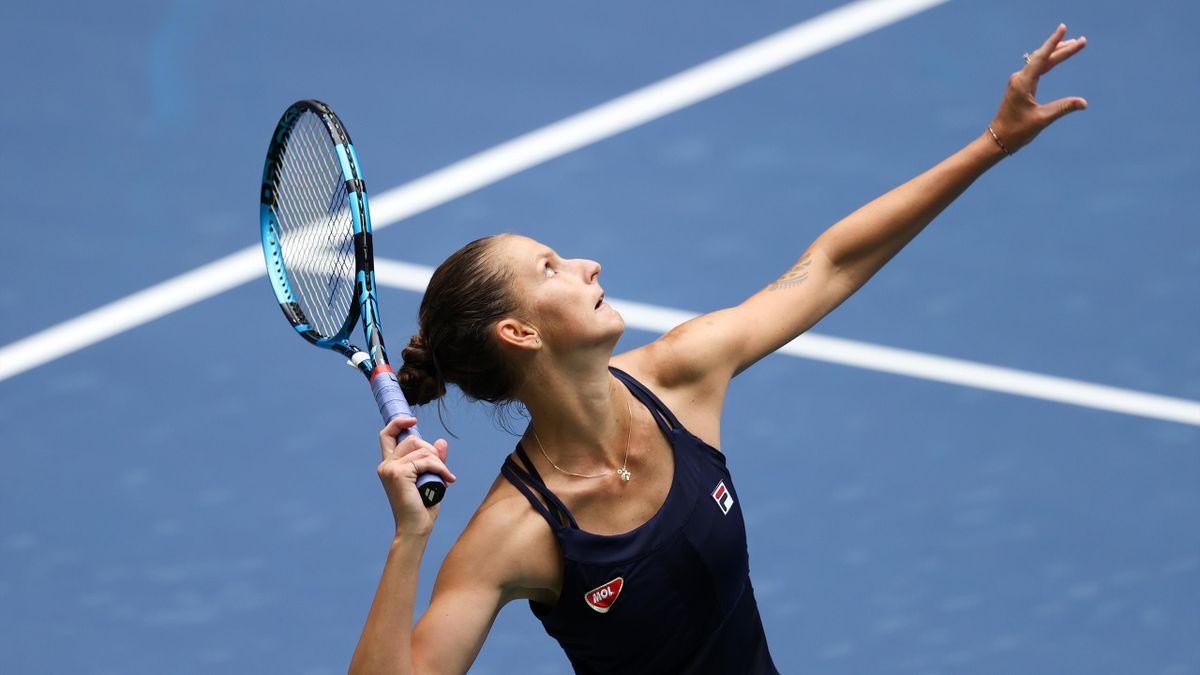 US Open - highlights: Karolina Pliskova - Anhelina Kalinina