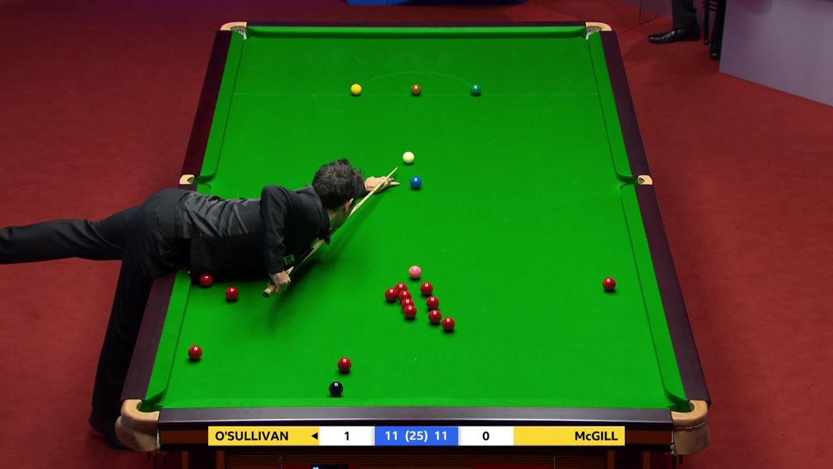 'Draped all over it' – O'Sullivan fouls after waistcoat touches ball
