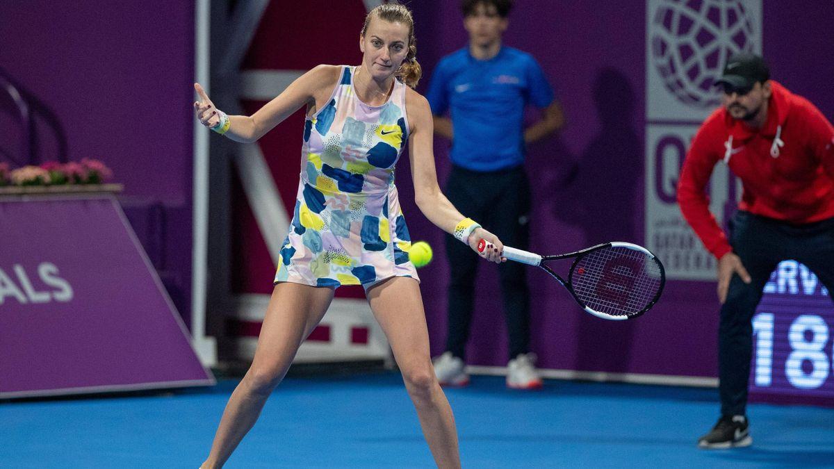 Petra Kvitova wird beim Benefizturnier in Prag vor Zuschauern spielen