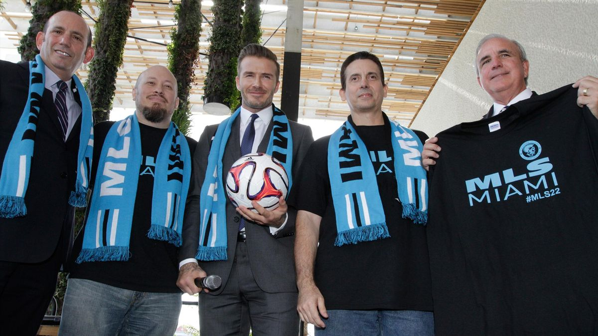David Beckham's Miami stadium plans have suffered another setback (AFP)