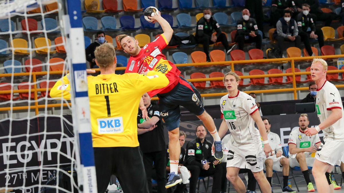 Handball-WM: Deutschland - Spanien