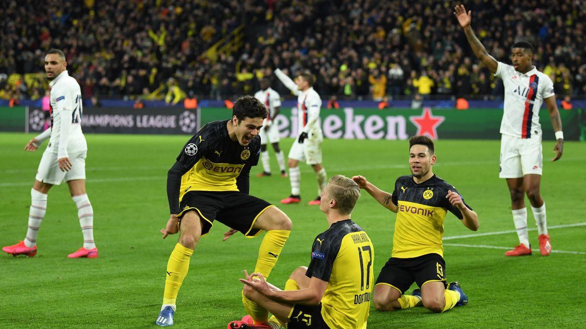 Erling Haaland - Borussia Dortmund-PSG Champions League 2019-20