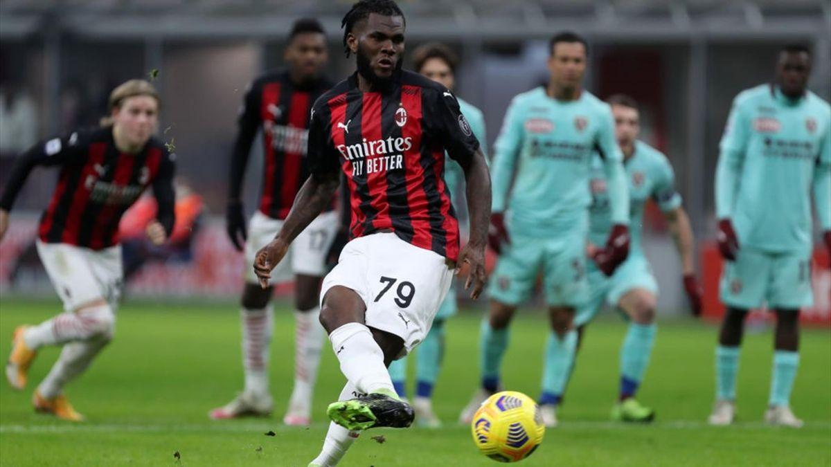 Kessié - Milan-Torino - Serie A 2020/2021 - Getty Images