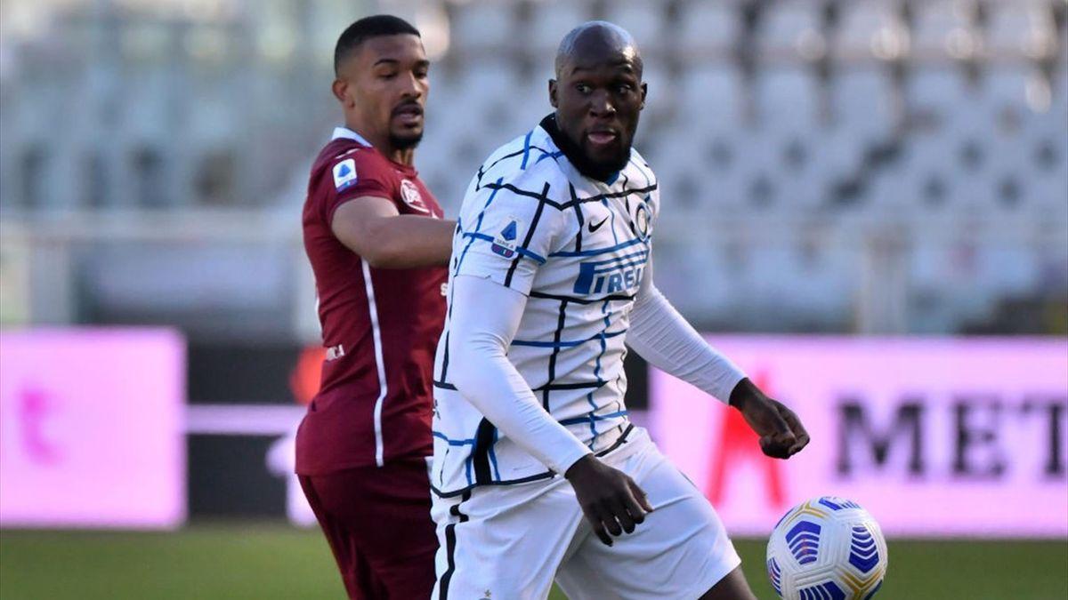 Gleison Bremer e Romelu Lukaku - Torino-Inter - Serie A 2020-2021