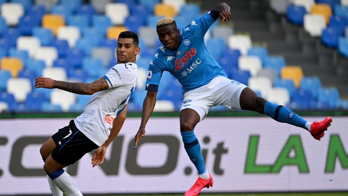 Napoli Atalanta Osimhen Romero