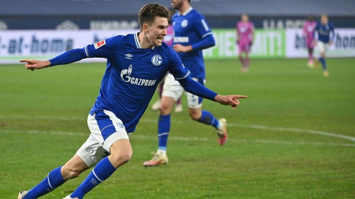 Matthew Hoppe vom FC Schalke