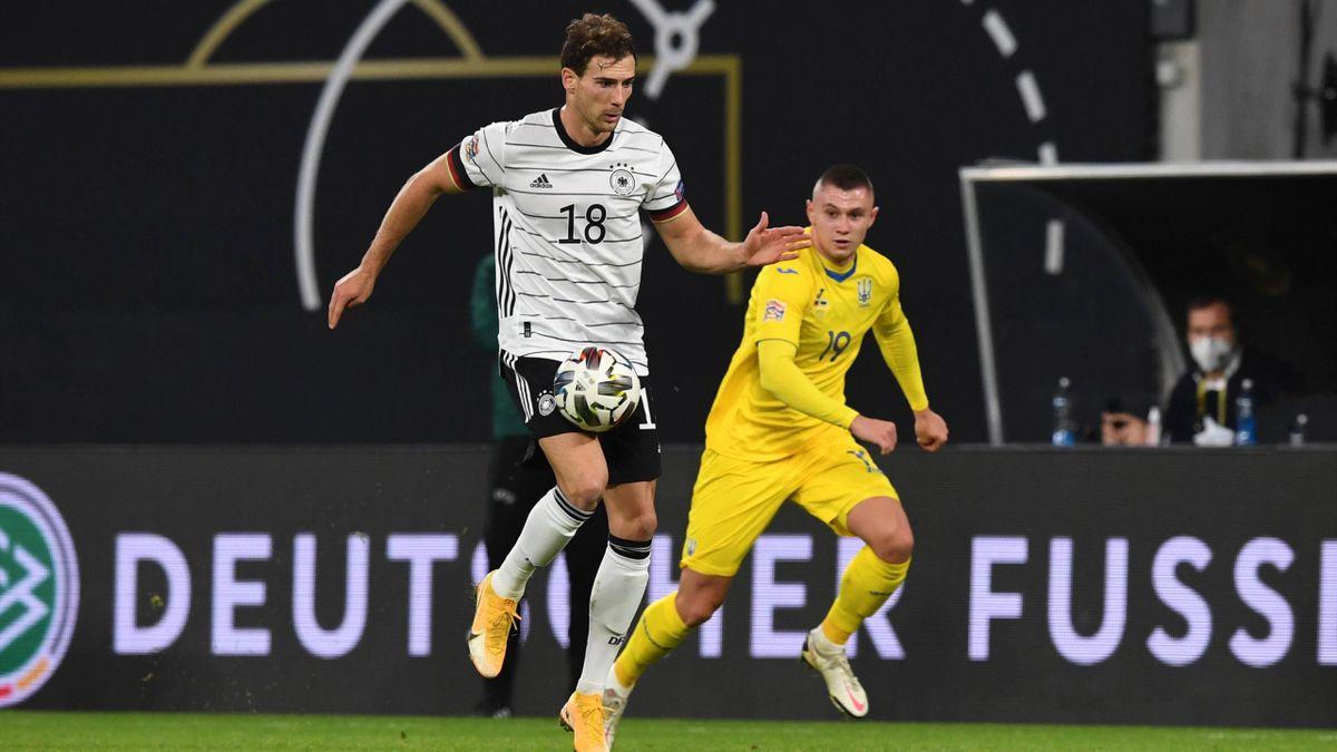 Leon Goretzka (l.) führte die DFB-Elf zum Sieg