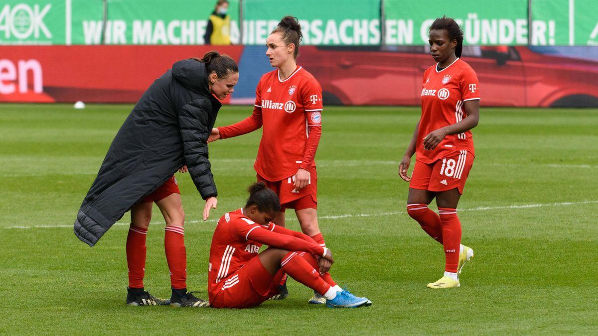 Enttäuschung bei den Frauen des FC Bayern