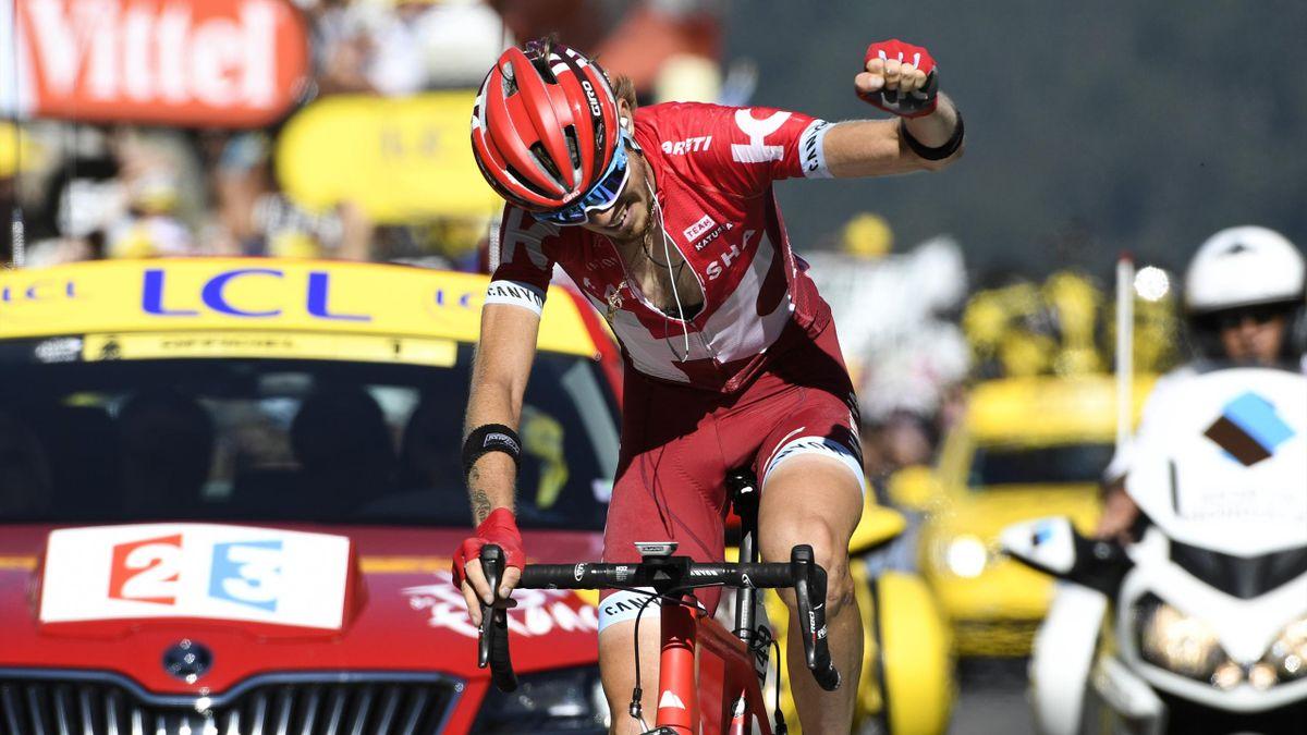 Ilnur Zakarin (Katusha) wins stage 17 of the Tour de France