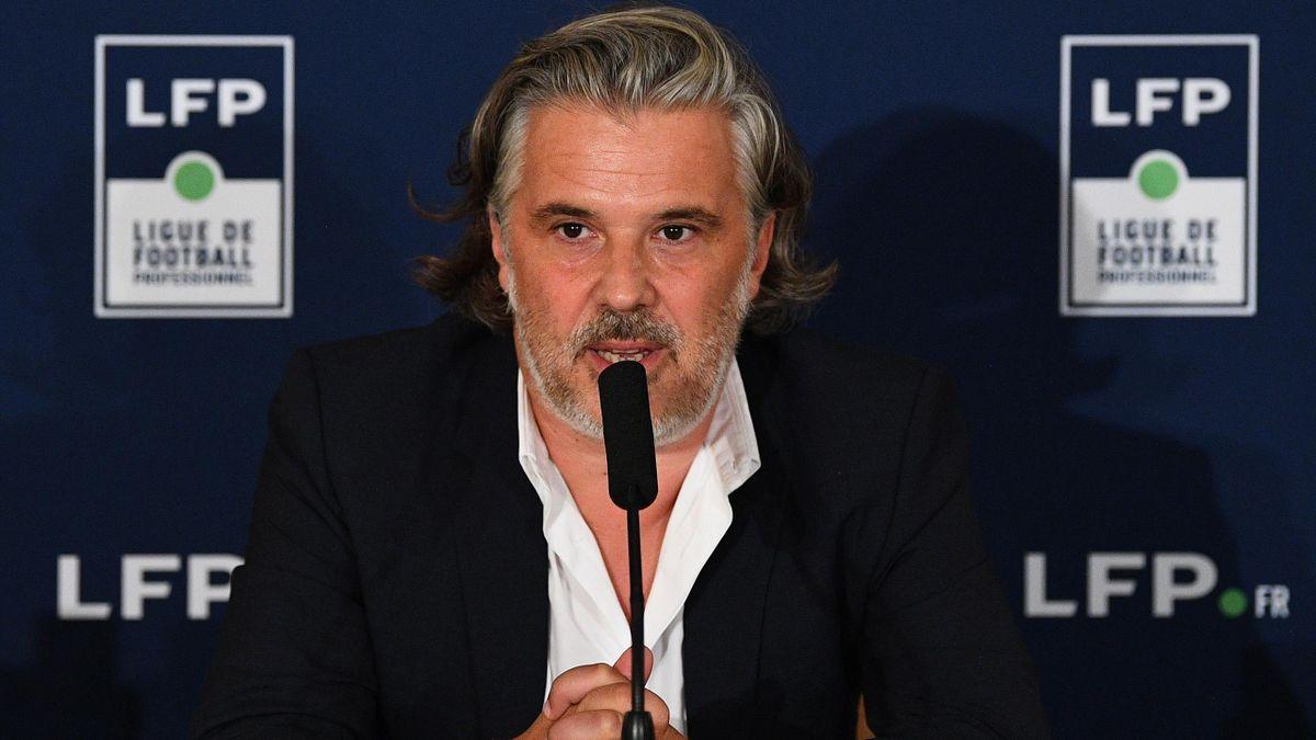 Vincent Labrune, le président de la LFP