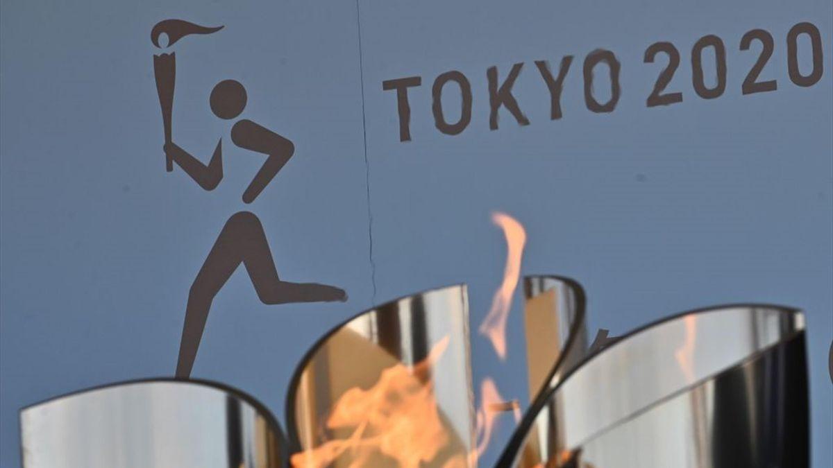 Fackellauf bei den Olympischen Spielen