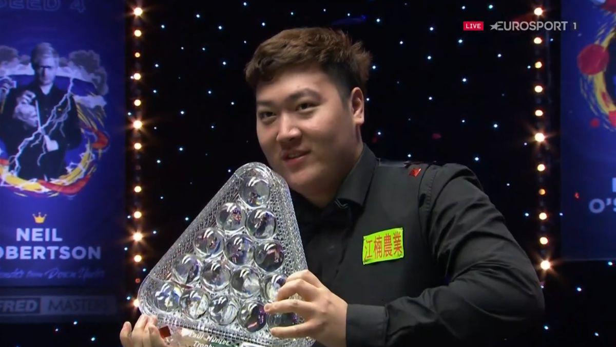 Yan Bingtao wins the 2021 Masters