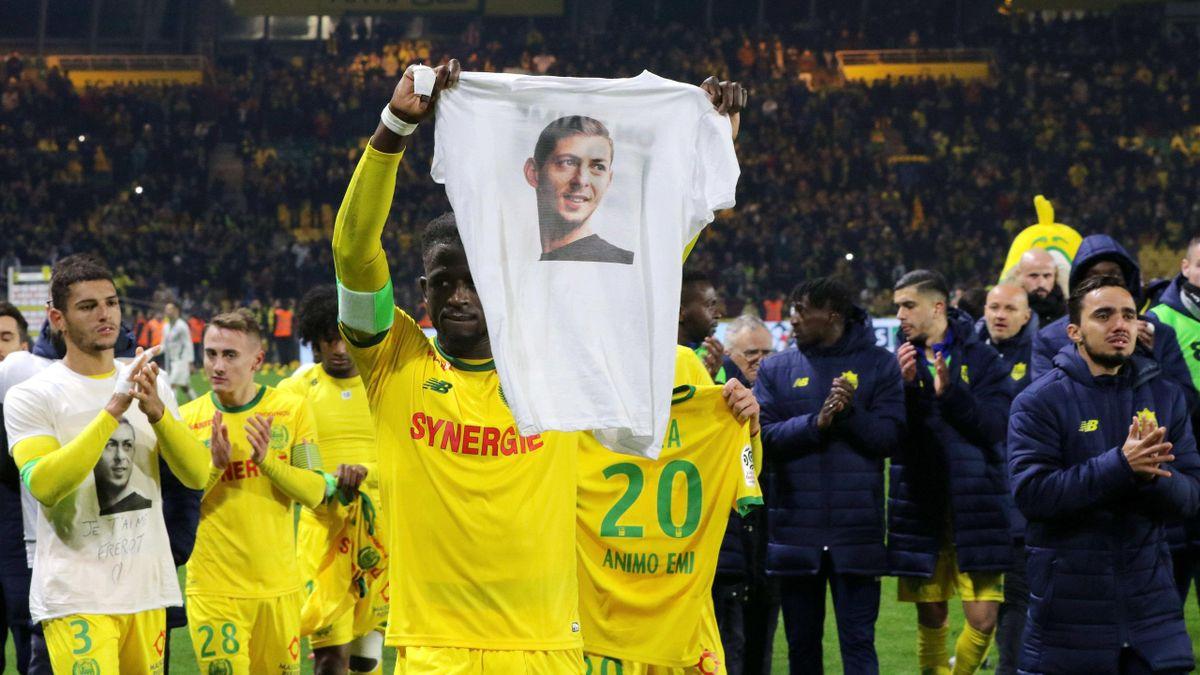 Nantes-Spieler gedenken Sala