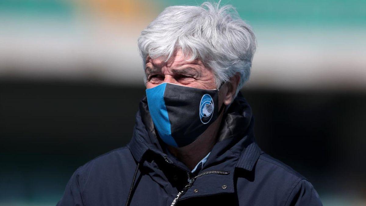 Gian Piero Gasperini - Atalanta - Serie A 2020-2021