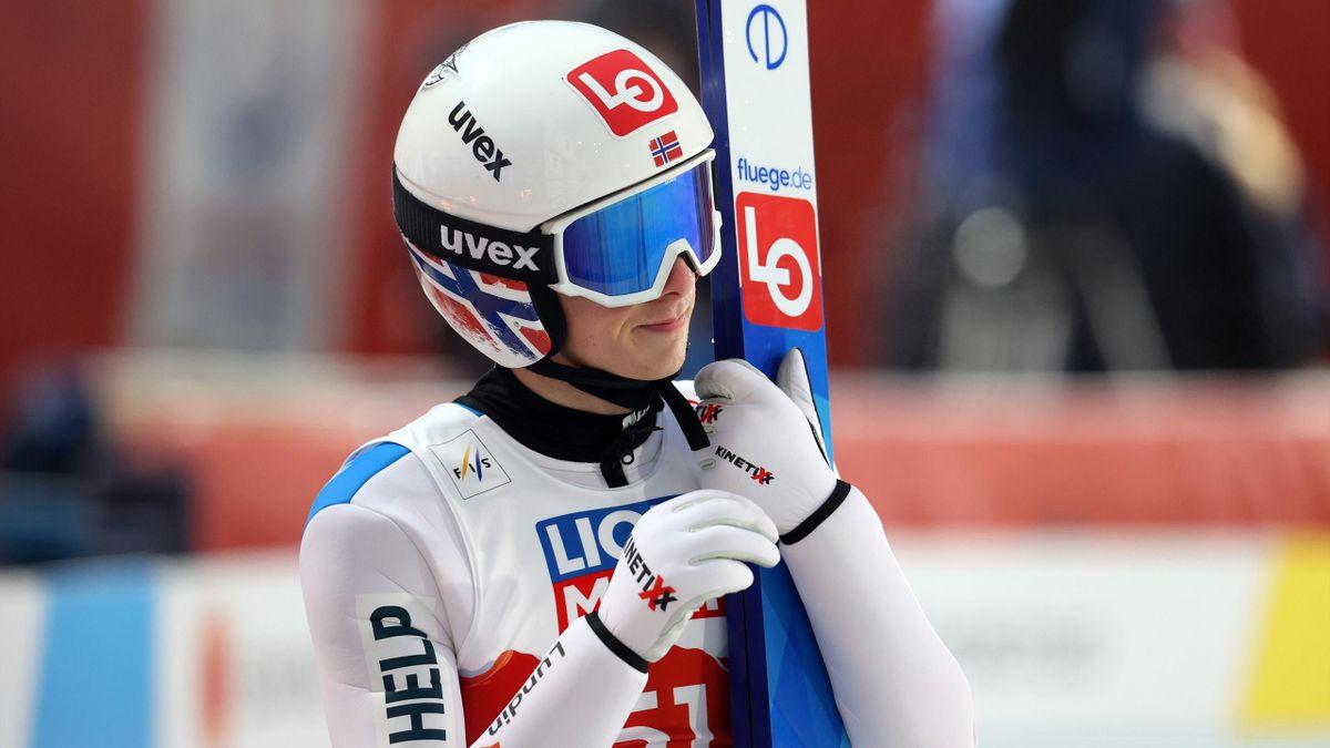 Halvor Egner Granerud bei der Nordischen Ski-WM in Oberstdorf